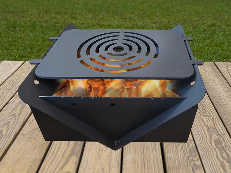<B>Reference</b>:FIRE PIT<br><b>Description:</b><br>- Metal Fire Pit <br>- You can order your fire pit with and without the grill.<br>
